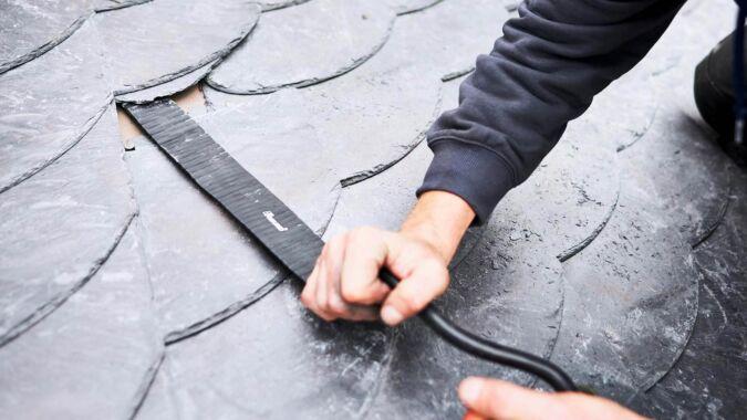 Dachdecker-Nageleisen handgeschmiedet, 470 mm